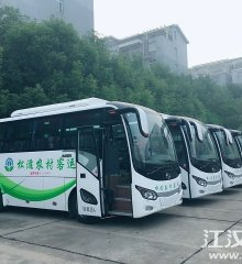 松滋即將全省首開農村客運公交新能源電動車